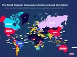 Pizza is the world's favourite takeaway meal but Chinese is top in Britain and America