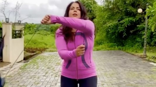 Sameera Reddy asks fans to get active again and do things they love in new post. Seen yet?
