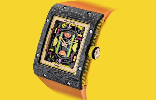 The Richard Mille Bonbon collection is a sweet treat for watch and candy lovers