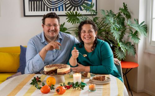 Christmas at home with Honey & Co - where simple bakes and traditional turkey rules