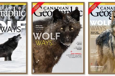 Help us choose the November/December 2019 Canadian Geographic cover!