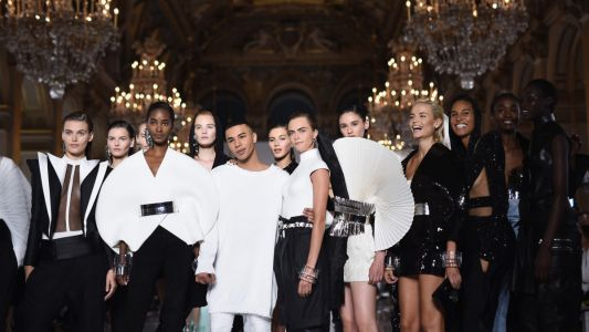 Balmain's return to couture, Paris Fashion Week Men's highlights, and more fashion news