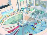 Butlin's releases a picture of its new £40MILLION pool complex in Bognor Regis - and it's stunning