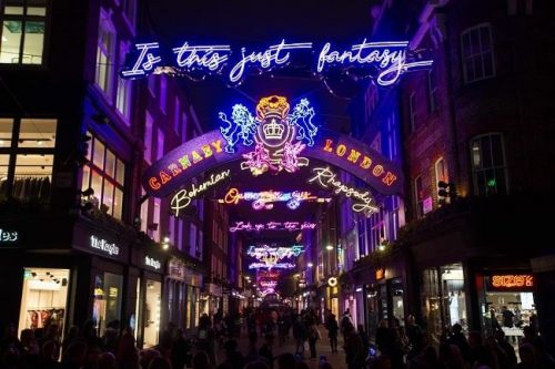 Carnaby Christmas Shopping Party