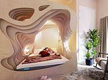 Hotel offers beds that have been designed to mimic a mother's womb