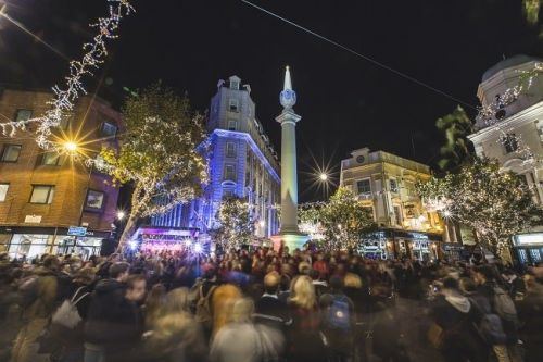 Seven Dials to Create Magical Christmas Light Switch On