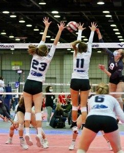 Detroit Convention Center Reopens with Volleyball Tournament