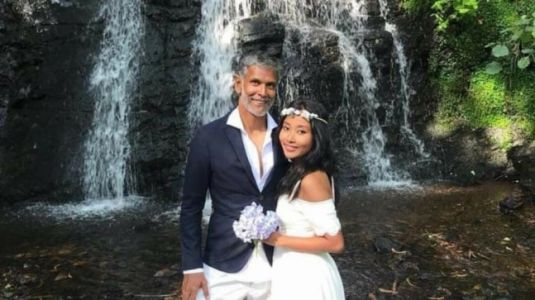 Milind Soman shares dreamy Spain wedding pic, reveals it was just like Ankita wanted