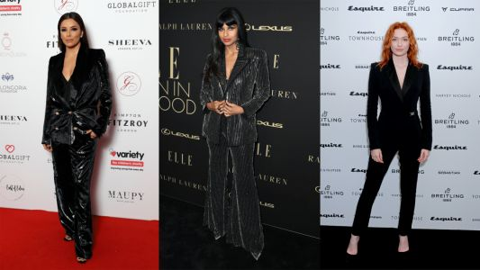 This Week's Best-Dressed Celebrities Swapped Gowns for Sleek Suits