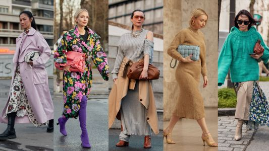 Big Clutches Were a Street Style Staple on Day 1 of Paris Fashion Week