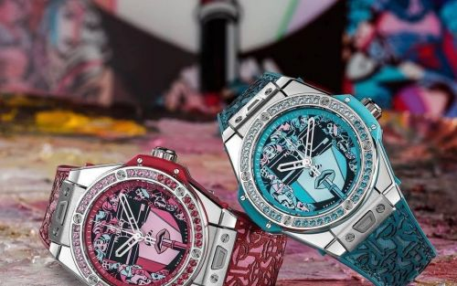 Sugar & spice: Hublot's new Big Bang One Click Marc Ferrero celebrates modern women