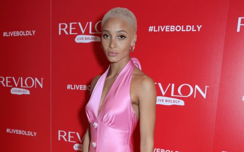 Adwoa Aboah Became an IRL Barbie in Pink Satin Miu Miu