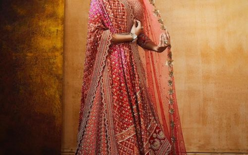 A complete guide to layering your wedding lehenga right