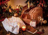 Christmas gifts for a taste of hotel heaven at home from Connaught martini glasses to dinner hampers