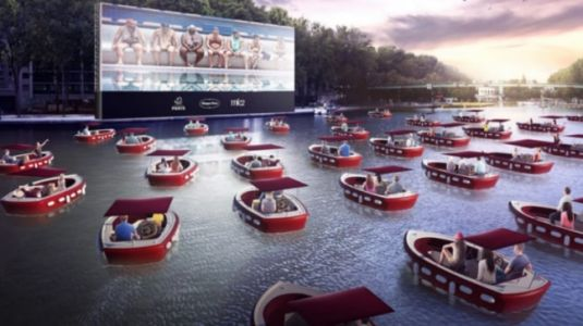 Paris introduces floating movie theatre: Sit in socially distant boats and watch films