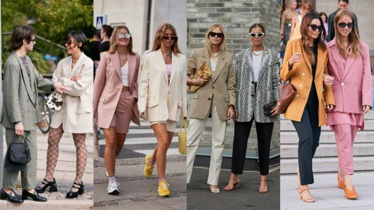 Blazers Were a Street Style Favorite at Copenhagen Fashion Week