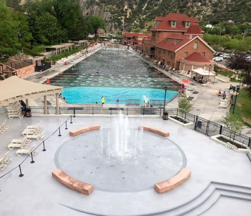 Water Features Boost Fun Factor at Storied Glenwood Hot Springs Resort