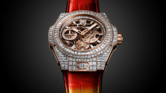 Urban reggaeton meets Hublot in an iced-out 'Big Bang Meca-10 Nicky Jam' capsule collection