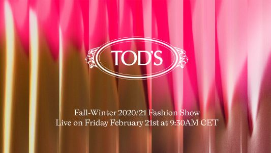 Watch: Tod's Fall/Winter 2020 fashion show, live from Milan