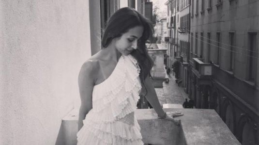 Malaika Arora is setting Milan on fire in white summer dress. See pics