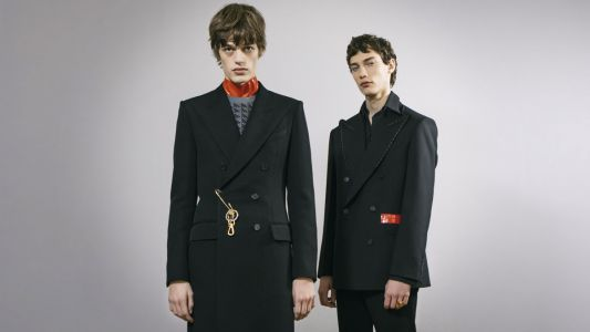 Givenchy's FW20 menswear collection adds a nocturnal spin to sleek modern tailoring