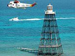 Hurricane-proof 19th-century Sand Key Lighthouse off the coast of the Florida Keys is up for auction