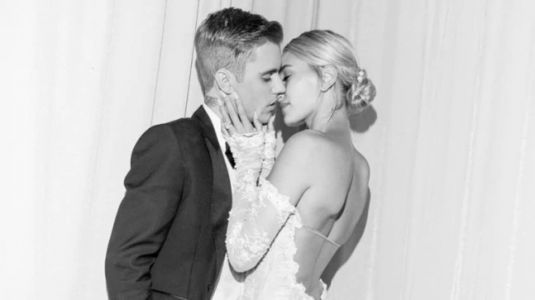 Hailey Beiber reveals how her wedding dress was made. Watch viral video