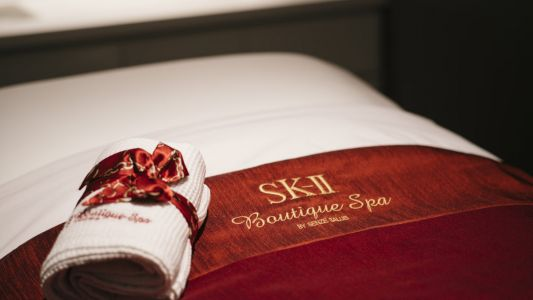 SK-II collaborates with Senze Salus to open its largest boutique spa yet at Raffles City