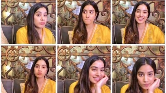 Janhvi Kapoor in Rs 15k bright yellow kurta-set is a ray of sunshine