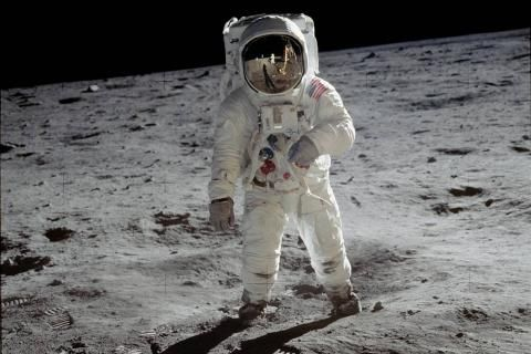 Man on the moon: celebrating Buzz Aldrin