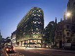 Plans unveiled for new five-star hotel in London that will be wrapped in 400,000 plants