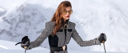 Ski in Style with Balmain and Rossignol's Collection