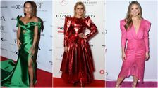 This Week In Outrageous Celeb Outfits, The Stars Channeled An '80s Prom