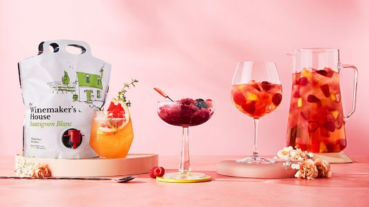 Three refreshing wine-based cocktails for your next patio hang