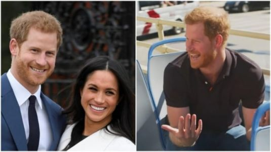 Prince Harry on James Corden show says toxic British press drove him and Meghan away