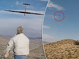 Remote-controlled glider clocks 548mph to make a new dynamic soaring speed world record