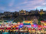 Edinburgh is named as the best city in Britain for Christmas shopping