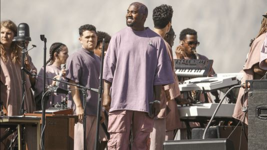 Kanye West Threw an On-Brand Sunday Service at Coachella
