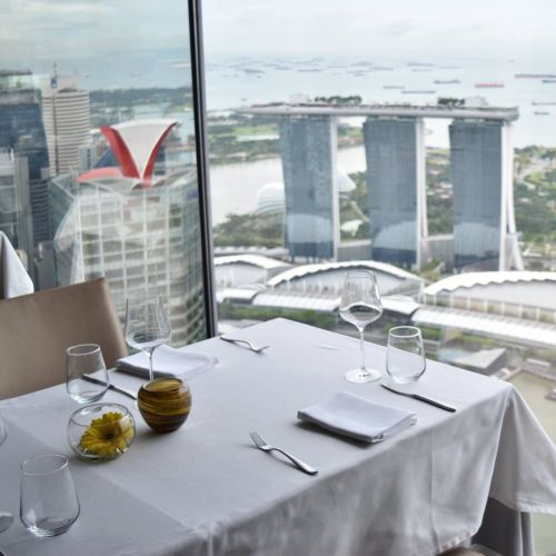 The rooftop restaurants in Singapore with the best views and eats