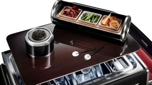 Hold the swankiest picnic of your life with Rolls-Royce's new champagne chest