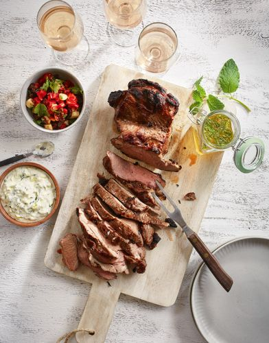 Recipe: Jenny's Famous Butterflied Barbecue Lamb