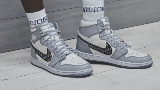 Nike joins forces with Dior to remix the Air Jordan 1s