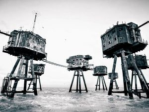 Abandoned Cluster of World War II Sea Forts to Turn into a Luxury Resort