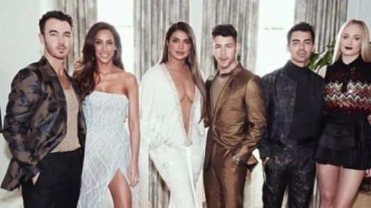 Grammys 2020: Priyanka Chopra and Sophie Turner with Jonas Brothers in one epic famjam pic