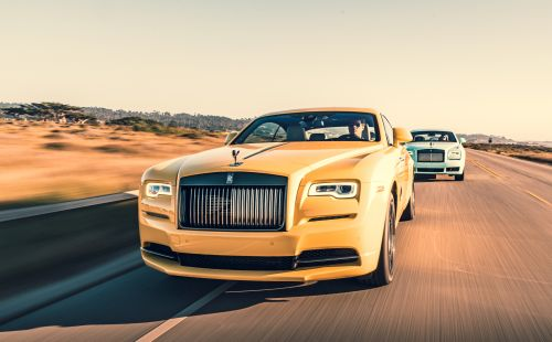 Rolls-Royce's new Pebble Beach 2019 Collection comes in a burst of colours