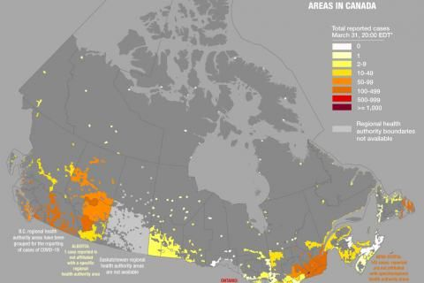 What are maps really saying about COVID-19 in Canada?