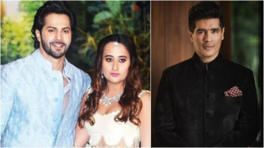 Varun Dhawan and Natasha Dalal's wedding dresses to be designed by Manish Malhotra?