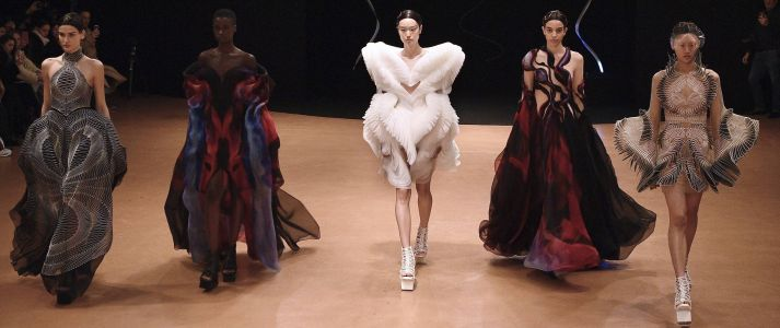 See Iris Van Herpen's Fungi Fashion From Paris Haute Couture Week 2021