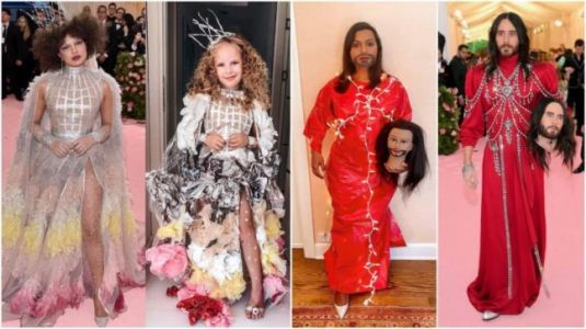 People take part in the Met Gala Challenge and recreate iconic red carpet looks. Hilarious photos