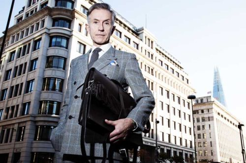 Menswear Models - Is Fifty Too Old?